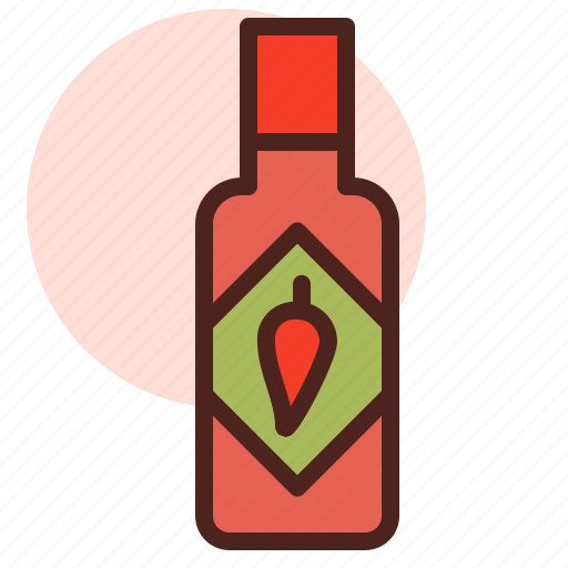 Food, grill, restaurant, tabasco icon - Download on Iconfinder