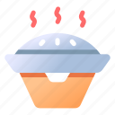 barbecue, bbq, cooking, grill, iron, pan icon