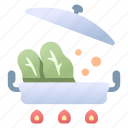 cooking, food, hot, meal, pot, soup, vegetable icon
