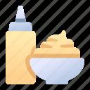 food, ketchup, mayonnaise, sauce, seasoning icon