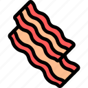 bacon, barbecue, bbq, food, party, picnic icon