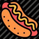 barbecue, bbq, food, hotdog, party, picnic icon