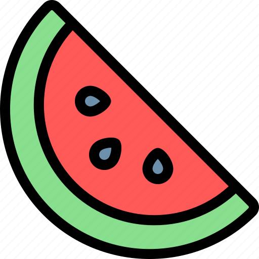 barbecue, bbq, food, party, picnic, watermelon icon