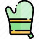 barbecue, bbq, food, glove, party, picnic icon