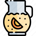 barbecue, bbq, food, lemonade, party, picnic icon