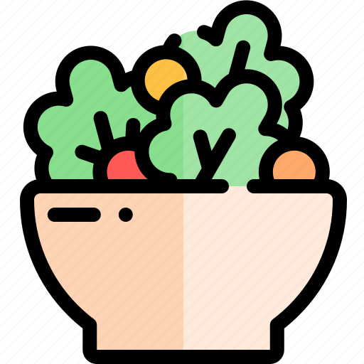 barbecue, bbq, food, party, picnic, salad icon
