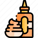 barbecue, bbq, food, mustard, party, picnic icon