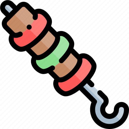 barbecue, bbq, food, party, picnic, skewer icon