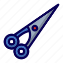 barber, cut, hair, scissor icon