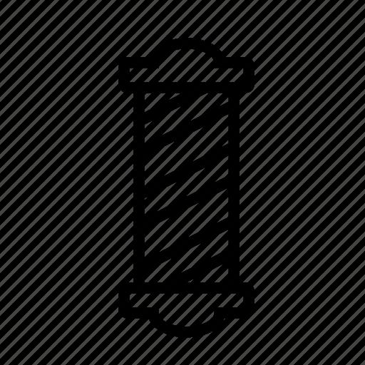 barber, hypster, pole, shop icon icon