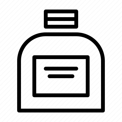 barber, coiffeur, cream, haircutter, hairdresser, jar icon