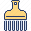 accessory, afro, beauty, clipper, comb, hipster, neck brush