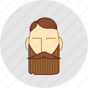 barber, beard, cutting, flatstyle, mustache, shop icon
