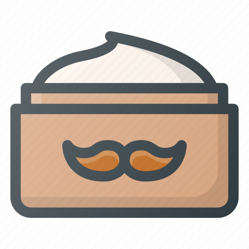 barber, care, male, moustache, shop, wax icon