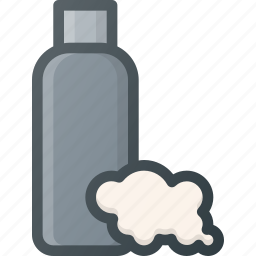 barber, care, male, shampoo, shop icon