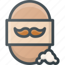 barber, care, male, shop, soap icon
