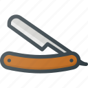 barber, care, male, razor, shop, tool icon