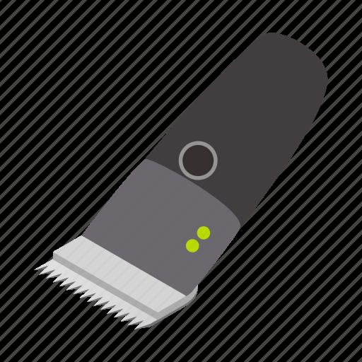 barber, blade, isometric, knife, razor, shaver, tool icon