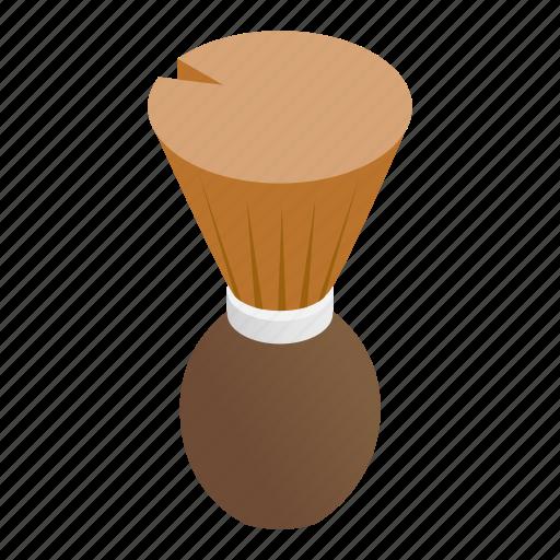 Barbershop, brush, equipment, fetlock, handle, swab, wet icon - Download on Iconfinder