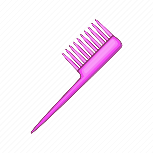 care, cartoon, comb, hair, hairbrush, hairstyle, sign icon