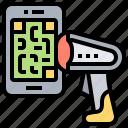 code, payment, qr, scanner, smartphone