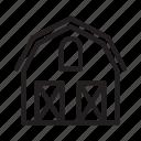 barn, farm, house, storage, property