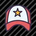 accessories, baseball, cap, fashion, sport icon