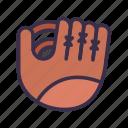 baseball, game, gloves, sport icon