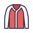 baseball, clothes, fashion, jacket, sport icon