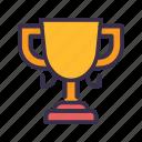 achievement, award, baseball, sport, trophy, winner icon