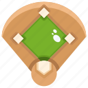 baseball, competition, field, sports, team icon