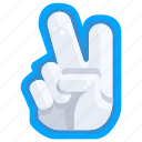 cheer, entertainment, fan, finger, foam, hand, sport icon