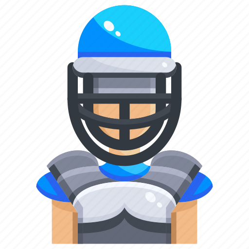 Avatar, ball, baseball, catch, catcher, people, sports icon - Download on Iconfinder