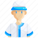 avatar, baseball, man, person, player, profile, user