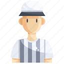 avatar, committee, man, people, person, referee icon