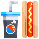 beverage, drink, food, hot, junk, soda, soft icon