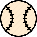 ball, baseball, baseball ball, sport icon
