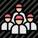 ball, baseball, player, team icon