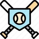 ball, baseball, game, match icon
