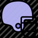 ball, baseball, helmet, player icon