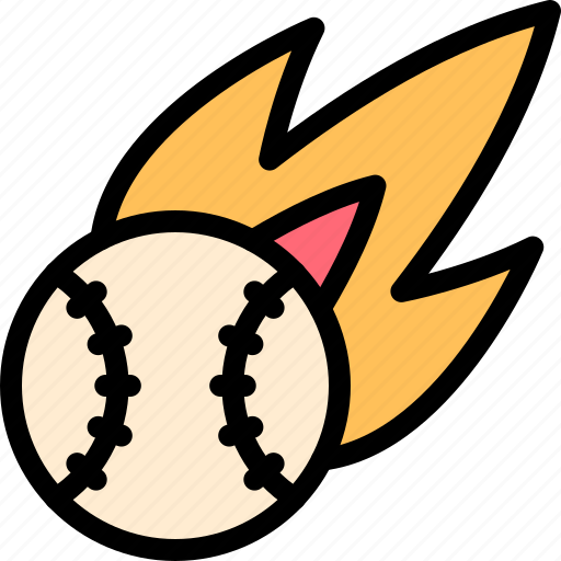 ball, baseball, homerun, strike icon