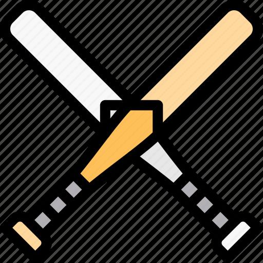 ball, baseball, bats, game icon