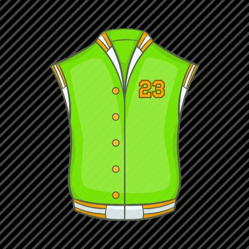 american, baseball, cartoon, fashion, jacket, retro, studio icon