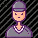 baseball, referee, sport, umpire icon