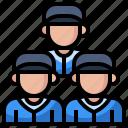 avatar, baseball, man, people, player, sports, team icon