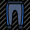accessories, baseball, clothing, fashion, pants, trousers, uniform icon