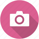camera, circle, photo, photographer, photography, shutterbug icon icon