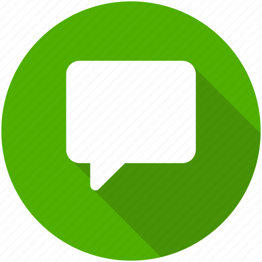 chat, chatting, circle, comment, message, messaging icon icon