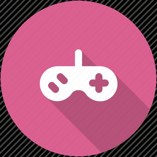 arcade, circle, controller, entertainment, game, gamepad, gaming icon icon