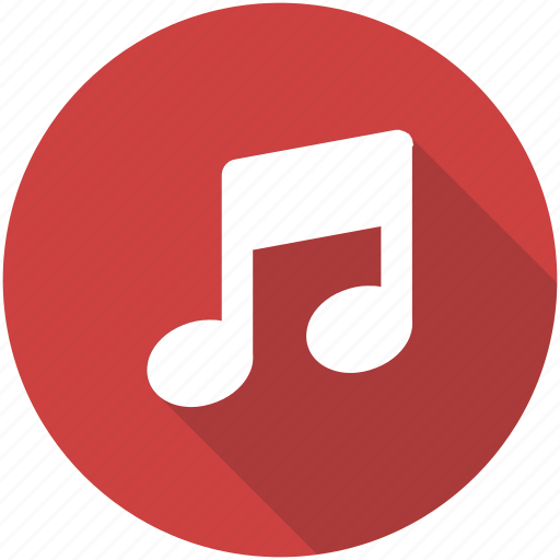 audio, blue, circle, music, radio, service, song icon icon